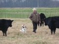 Coy and Ronnie on the farm